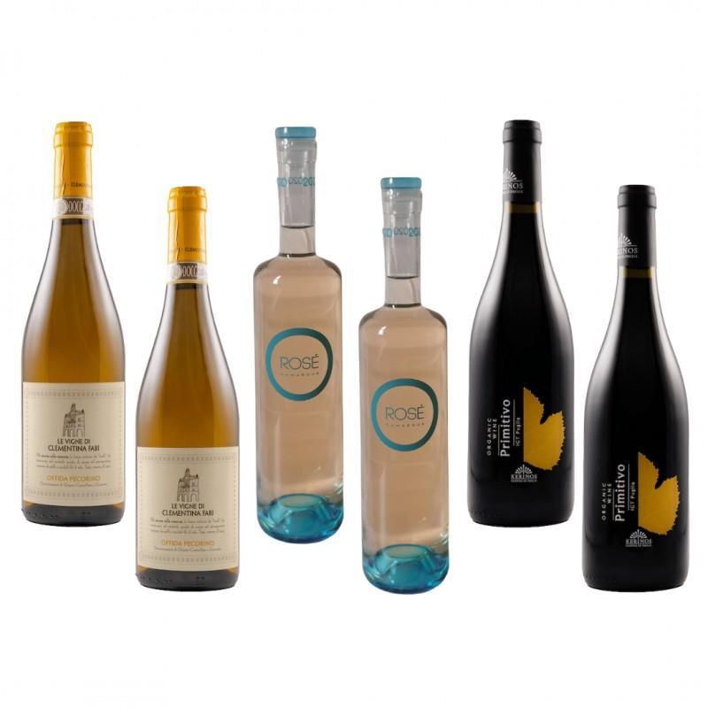 Organic Wines Mixed Case 1