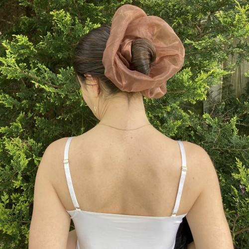 Giant Organza Hair Scrunchies
