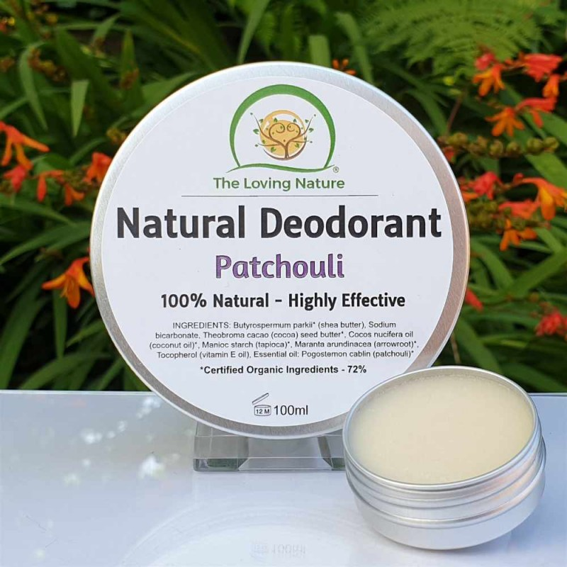 Patchouli Natural Deodorant