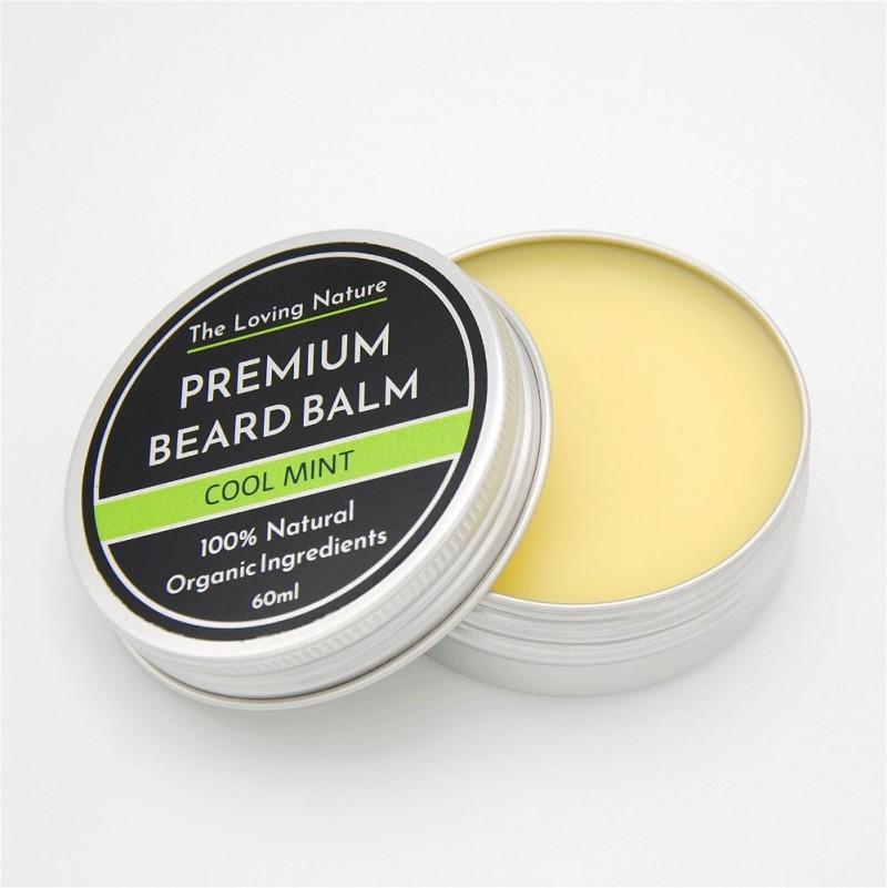 Peppermint Beard Balm - Cool Mint