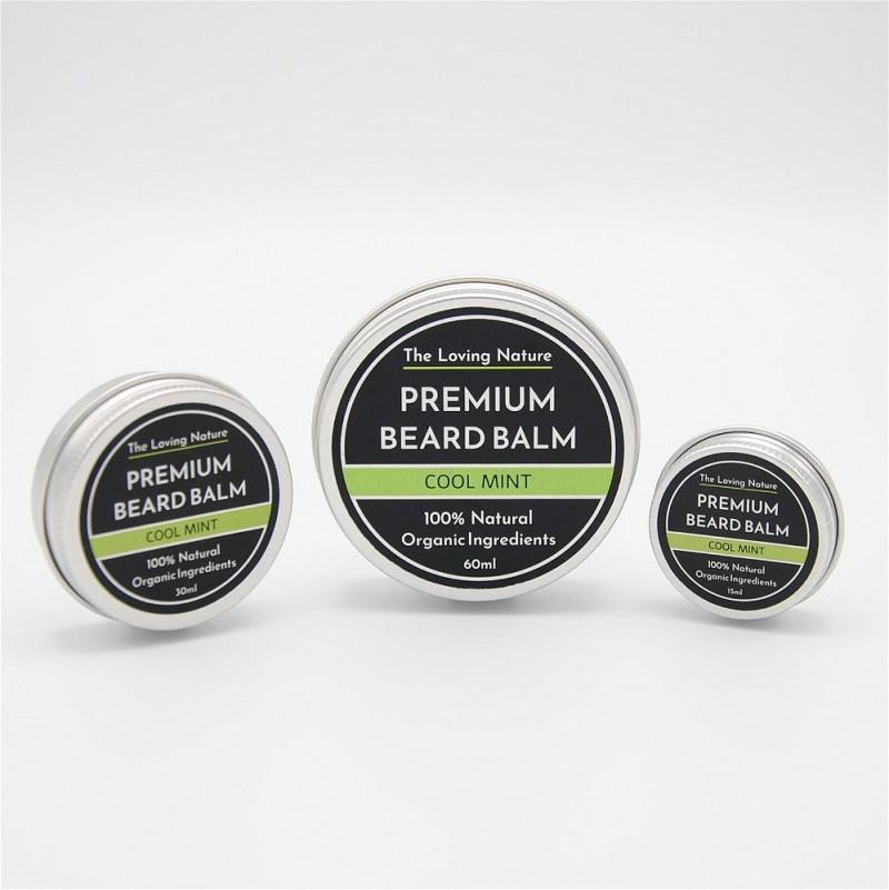 Peppermint Beard Balm - Cool Mint 5