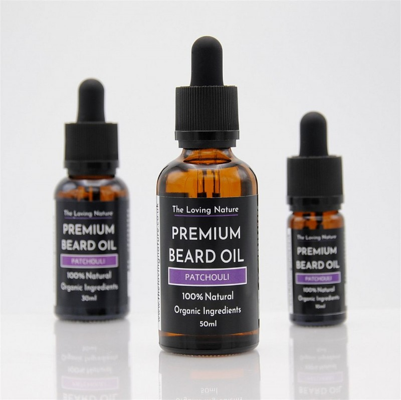 Premium Patchouli Beard Oil