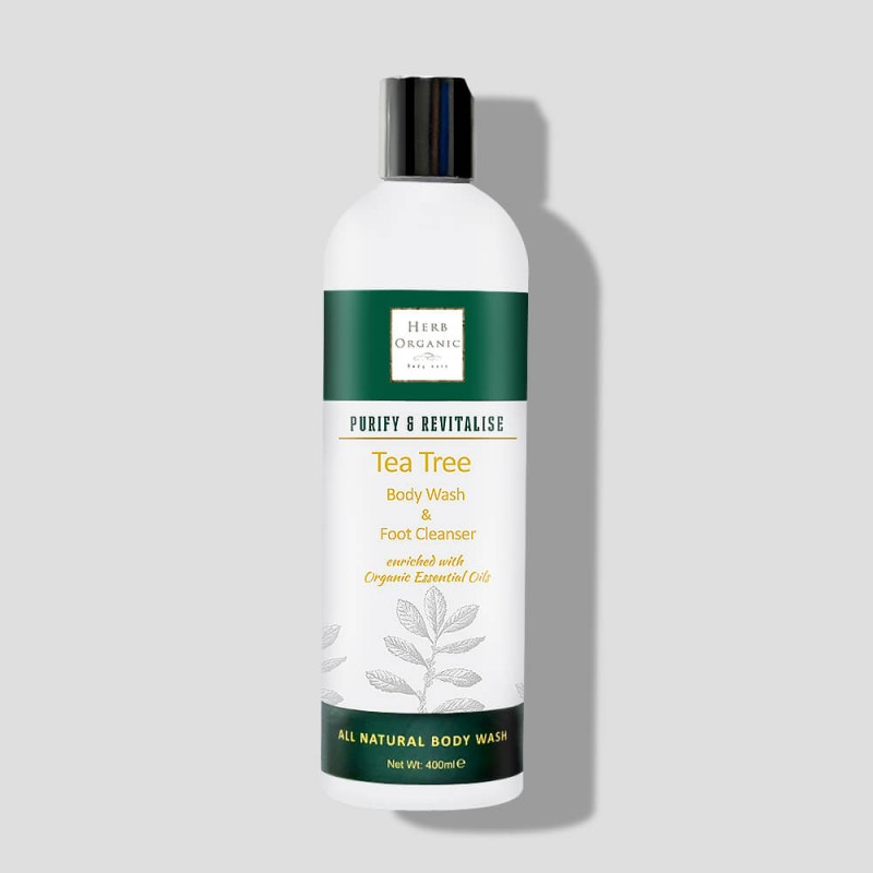 Purifying Tea Tree Body Wash & Foot Cleanser