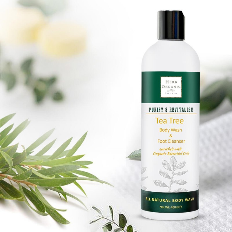 Purifying Tea Tree Body Wash & Foot Cleanser 2