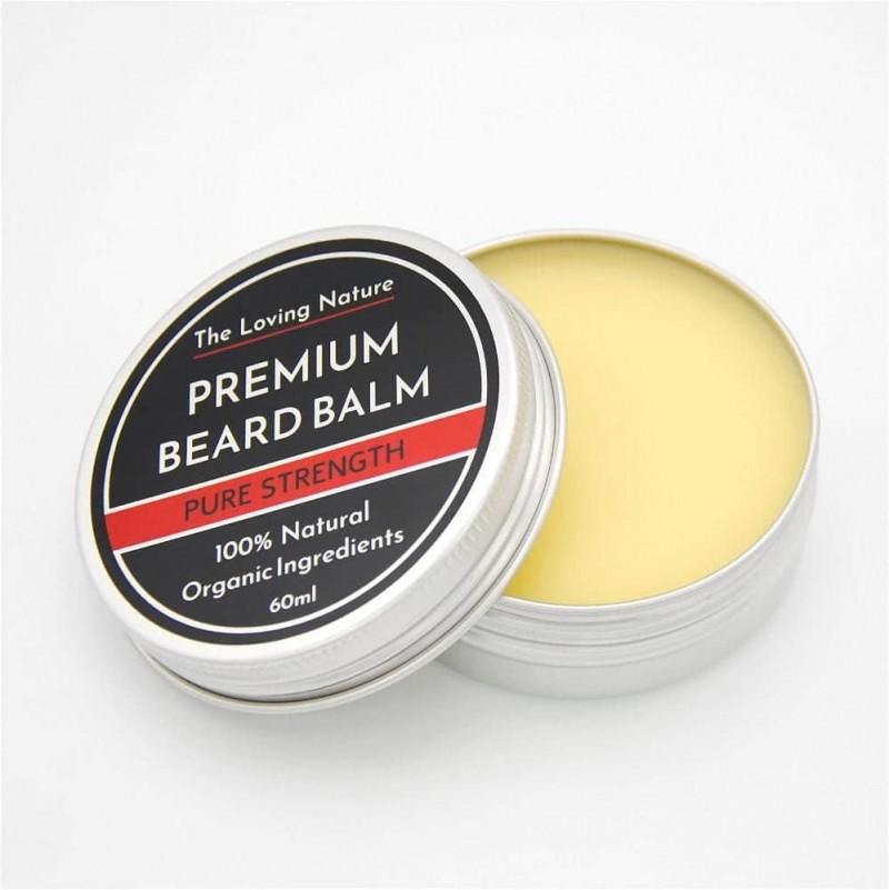 Rosemary & Tea Tree Beard Balm - Pure Strength