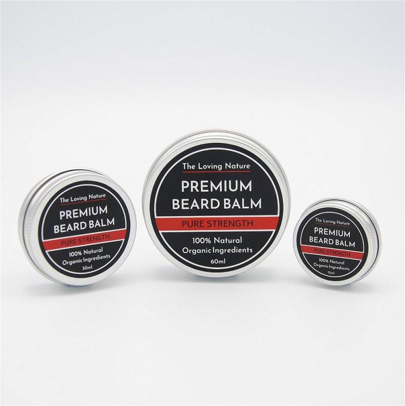 Rosemary & Tea Tree Beard Balm - Pure Strength 5
