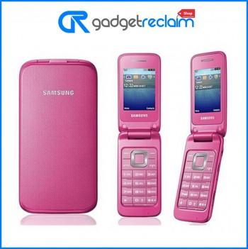 Samsung C3520 Coral Pink Flip Phone | Unlocked | Grade B