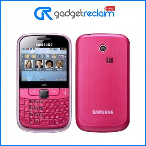 Samsung Chat 335 GT-3350 QWERTY | Pink | Tesco | Grade C