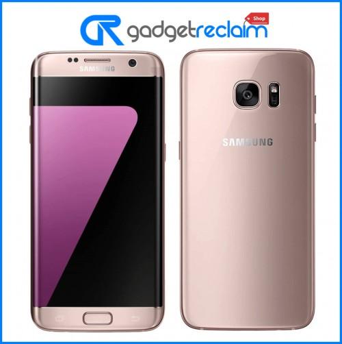 Samsung Galaxy S7 Edge | 32GB | Pink Gold | Unlocked (Dual Sim) | Grade A