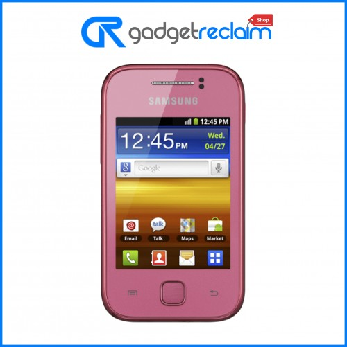 Samsung Galaxy Y 4GB Pink (GT-S5360) | Tesco | Grade B