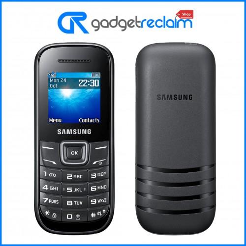 Samsung GT E1200i - Black | Tesco Mobile | Grade B