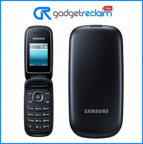 Samsung GT-E1270 Black Flip Phone | EE Network | Grade B
