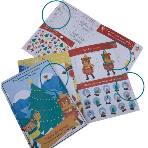 *Seconds* Sustainable Christmas Activity Booklet