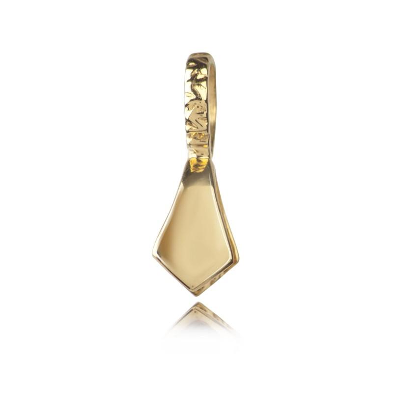 Simple Pendant Bail in Gold Vermeil