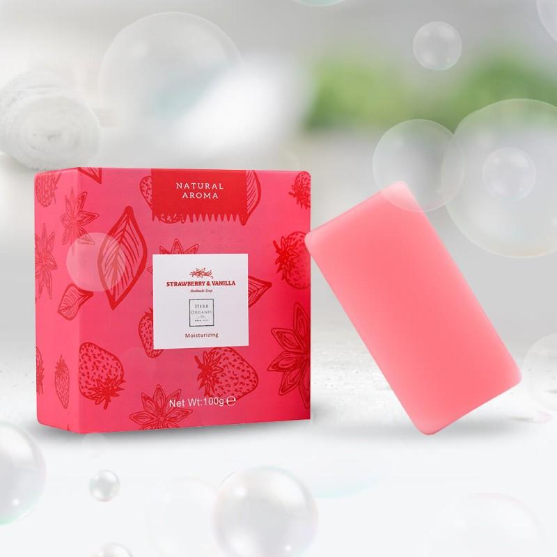 Strawberry & Vanilla Soap | 33% OFF 2