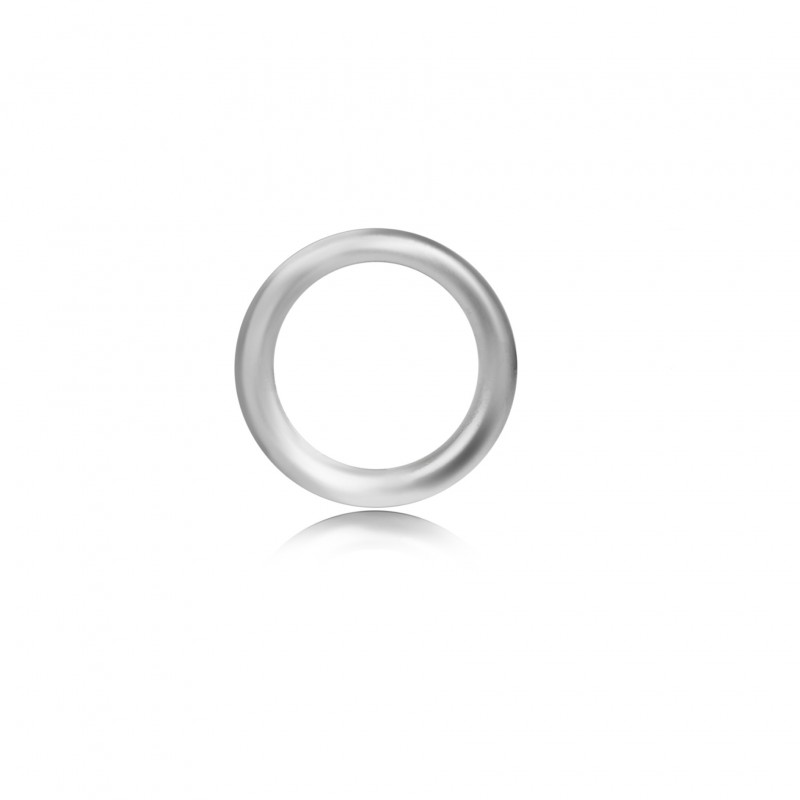 Strong Close Jump Rings in Sterling Silver – 14mm Diameter – 1.5mm Thickness