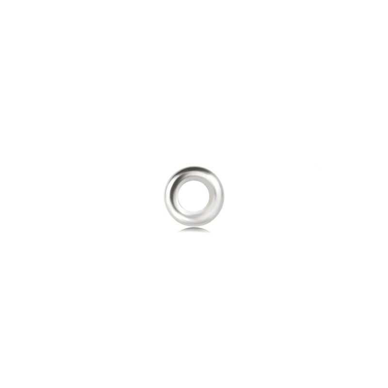 Strong Close Jump Rings in Sterling Silver – 6mm Diameter – 1.5mm Thickness