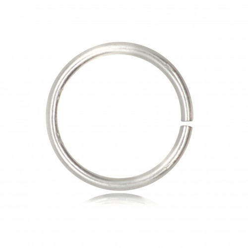 Strong Open Jump Rings in 925 Sterling Silver - 14mm Diameter - 1.5mm Thickness