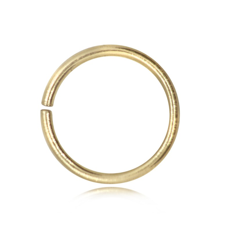 Strong Open Jump Rings in Gold Vermeil -16mm Diameter - 1.5mm Thickness