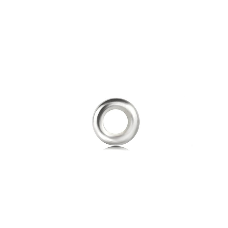 Strong Close Jump Rings in Sterling Silver – 8mm Diameter – 1.5mm Thickness