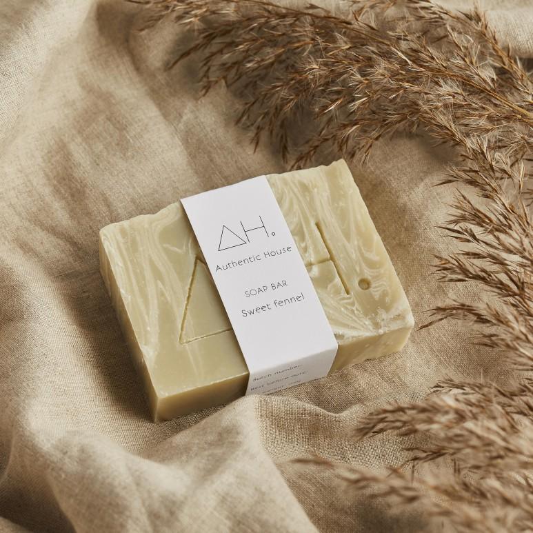 Sweet fennel soap