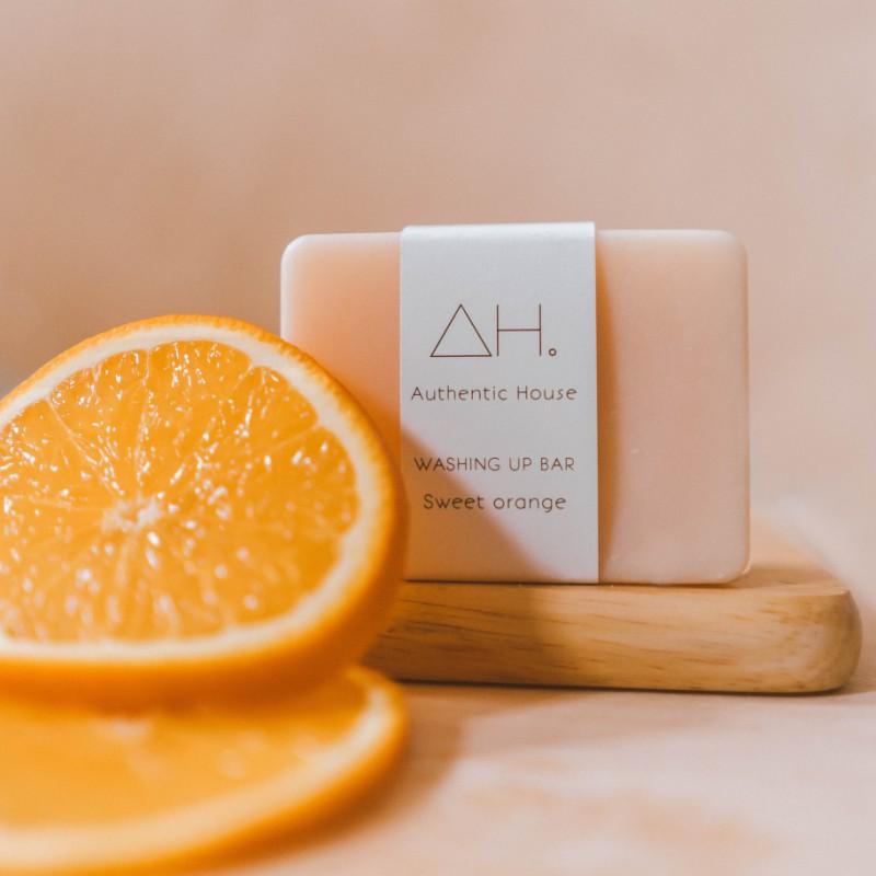 Sweet orange washing up bar