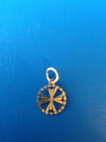 New Maltese cross pendant.