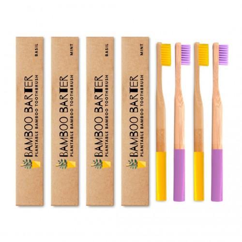 Bamboo Barter Pack of 4