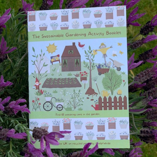 The Sustainable Gardening Activity Booklet - Multipacks for Stores, Schools and PTAs
