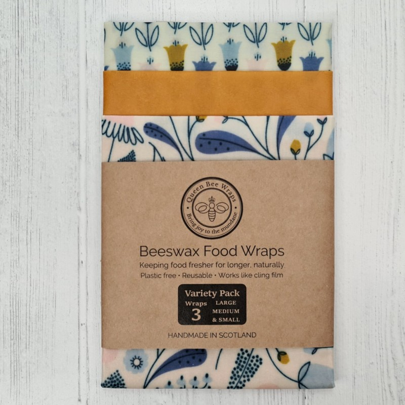 Tulip Sunset - Beeswax Wrap Variety Pack
