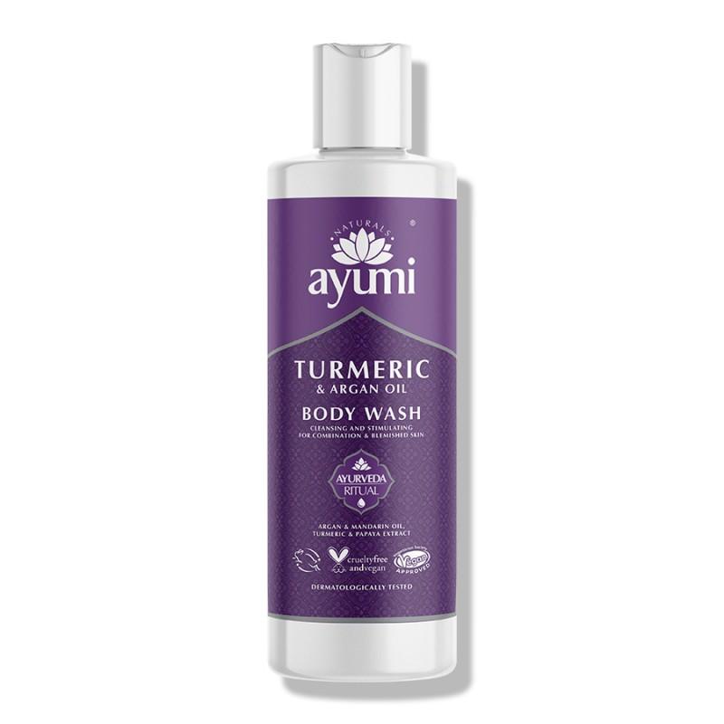 Turmeric & Argan Body Wash 250ml