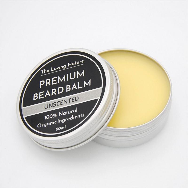 Unscented Beard Balm - Sensitive Skin