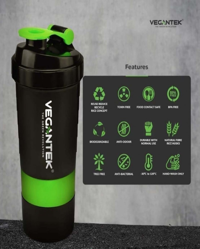 VeganTek Shaker (BPA free & storage) 4