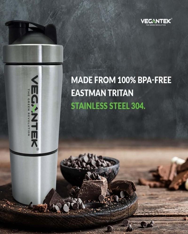VeganTek Stainless Steel Shaker 5