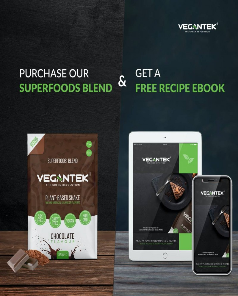VeganTek Superfoods Starter Pack (10 Sachets) / 10 Servings 3