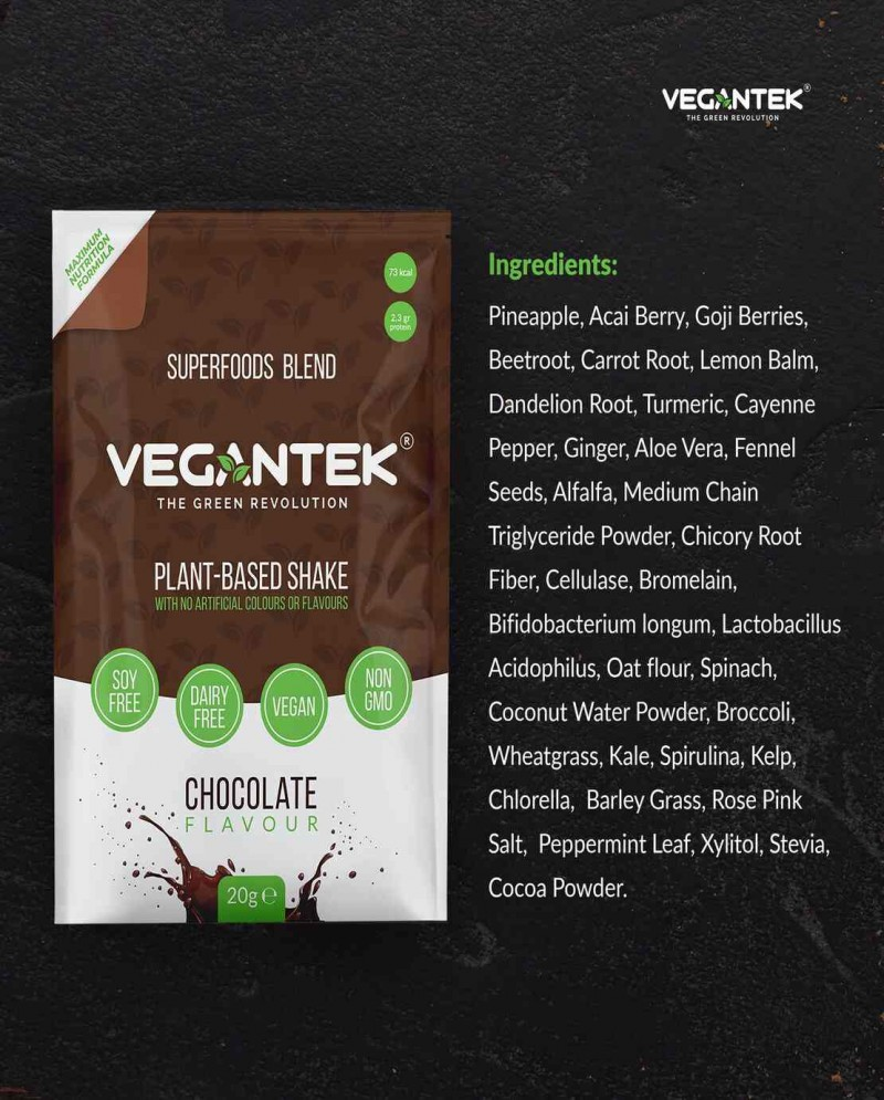 VeganTek Superfoods Starter Pack (10 Sachets) / 10 Servings 4