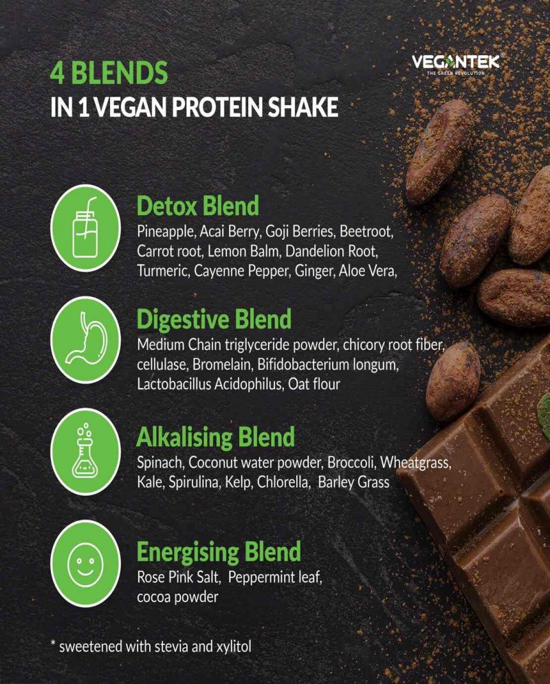 Vegantek Superfoods Blend (1kg) / 50 Servings 4