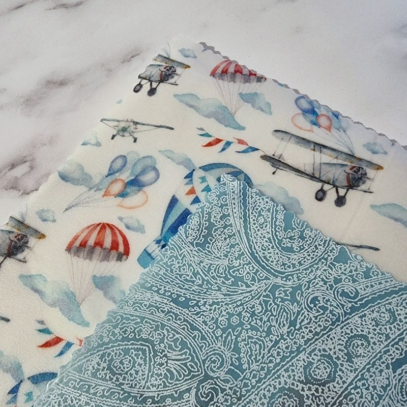 Vintage Skies - Beeswax Wrap Lunch Pack 3