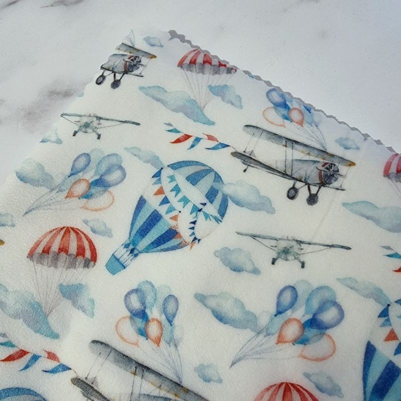 Vintage Skies - Beeswax Wrap Lunch Pack 5