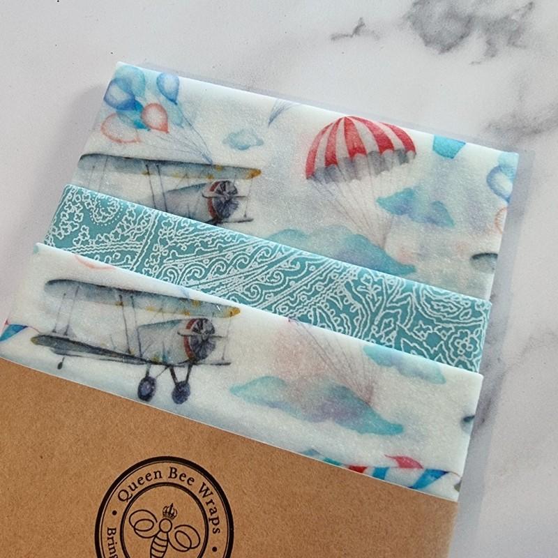 Vintage Skies - Beeswax Wrap Variety Pack