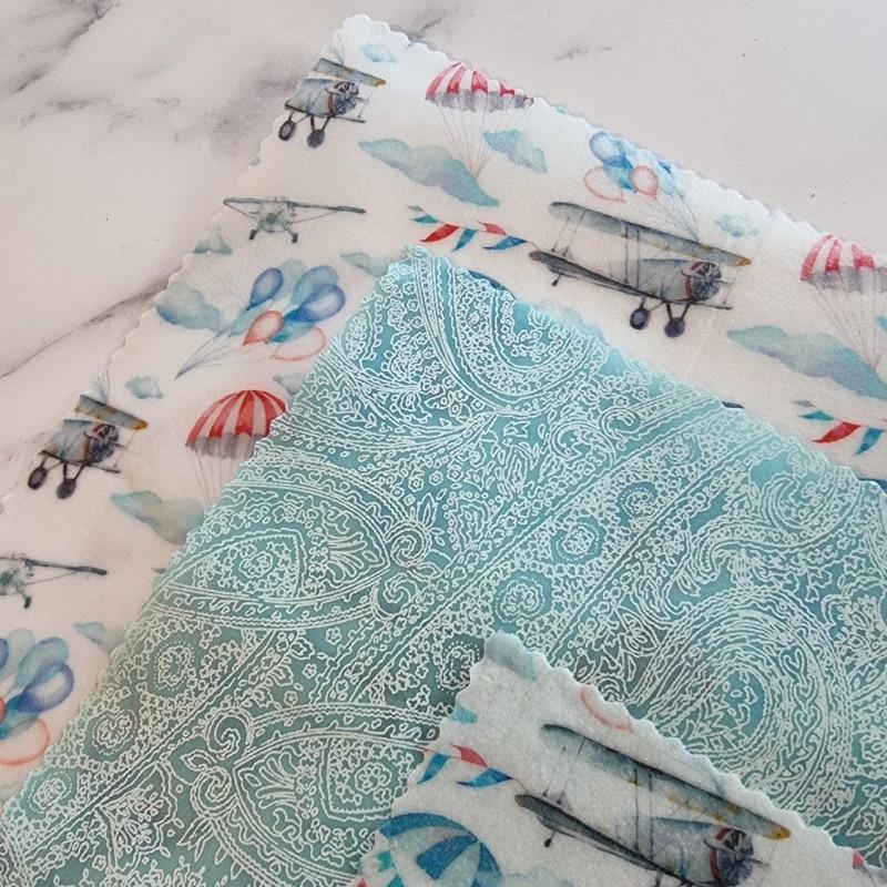 Vintage Skies - Beeswax Wrap Variety Pack 2