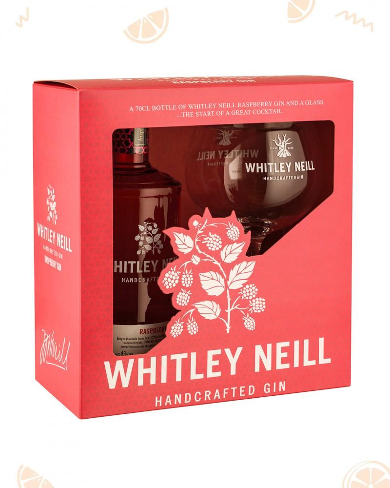 Whitley Neill Raspberry Gin & Copa Glass