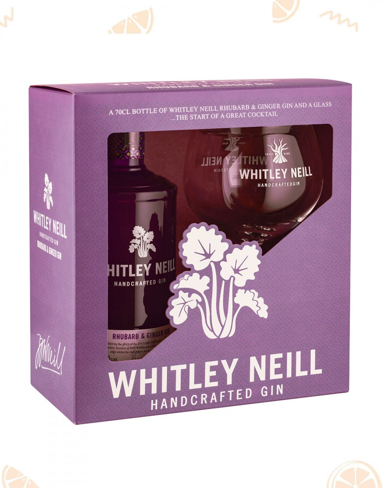 Whitley Neill Rhubarb & Ginger Gin & Copa Glass