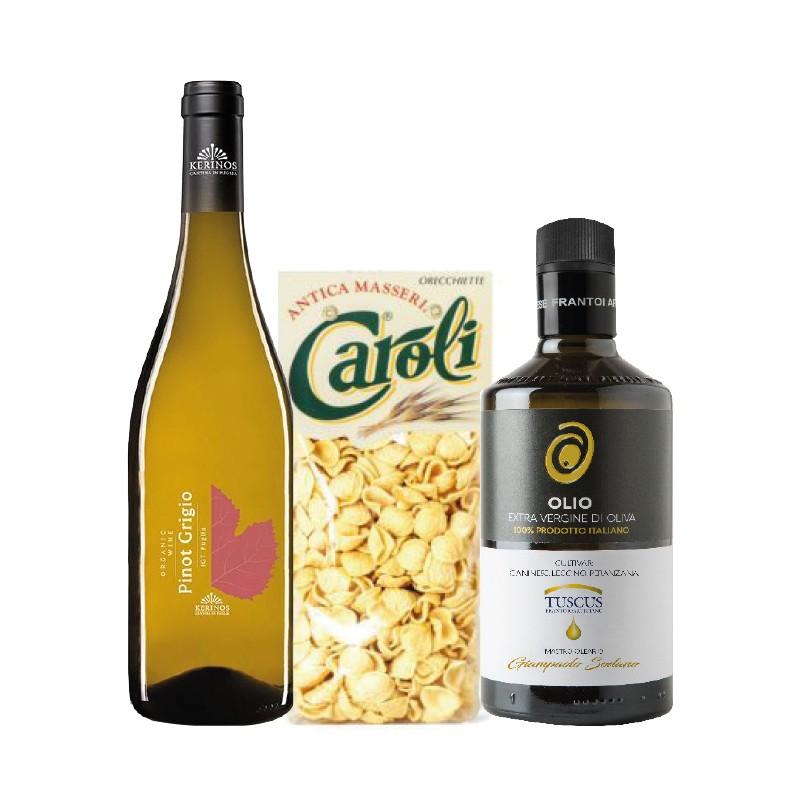 Hamper Wine Evo and Pasta