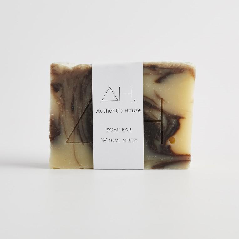 Winter spice soap 2