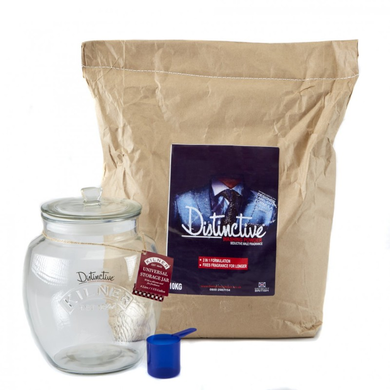 Zero Waste Laundry Detergent with Glass Kilner Jar 3